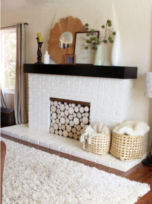 Faux Fireplace Faux Fireplace Ideas Pinterest