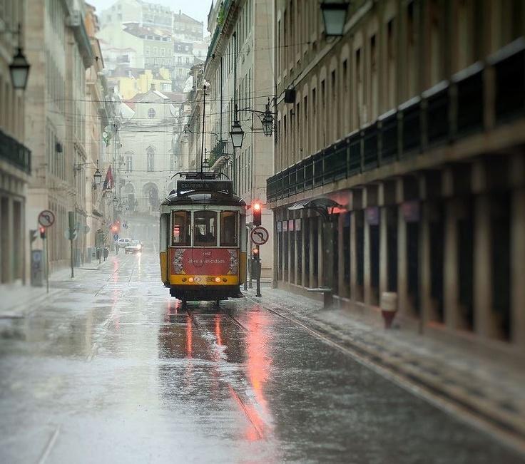 Lisboa à chuva ! Sinta-se em casa.