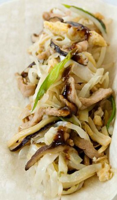 Moo shu pork | Good Eats | Pinterest
