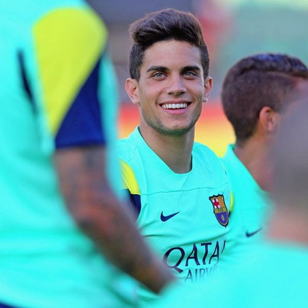 Marc Bartra  FC Barcelona training