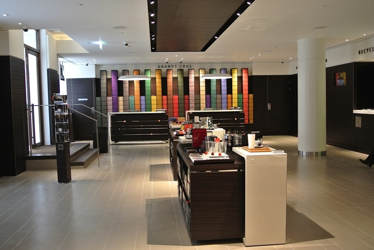 Nespresso Store London Retail Design Pinterest # Nespresso London