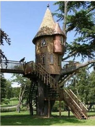 Home Decorating on Castle Treehouse   Home Decor