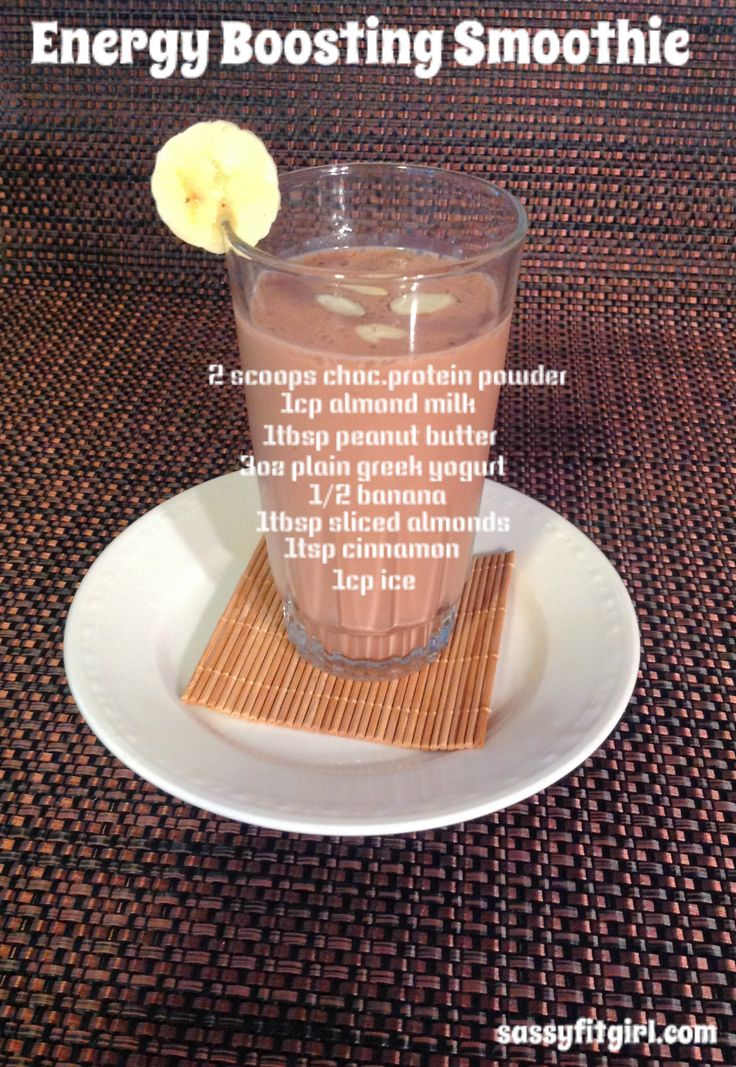 Energy Boosting Smoothie. #recipe #food #smoothies