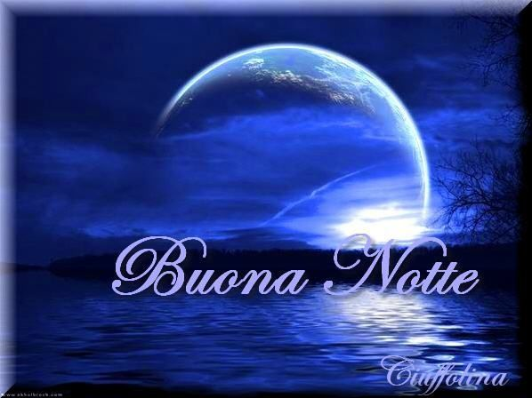 how to say good night in italian