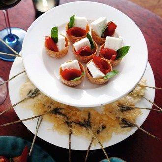 Parmesan on sticks