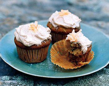Zucchini Ginger Cupcakes | Epicurious.com