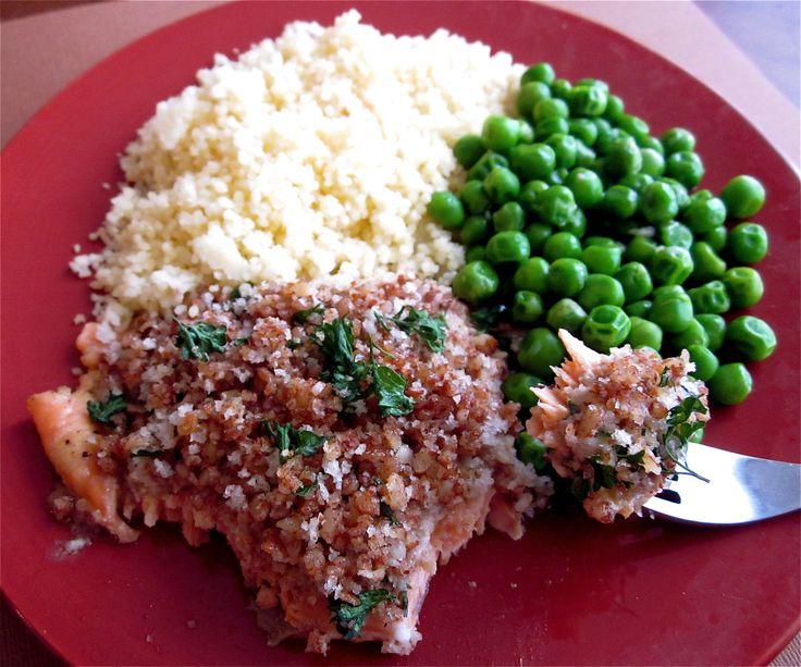 Alaska Salmon Bake with Pecan Crunch Coating - The Food Charlatan