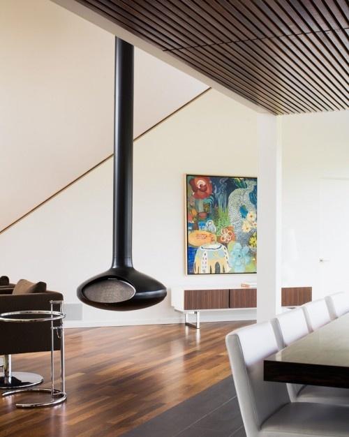 Modern living room with sleek lines modern homes i love for Modern sleek living room