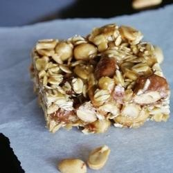 Homemade Nutty Oatmeal Bars | Food | Pinterest