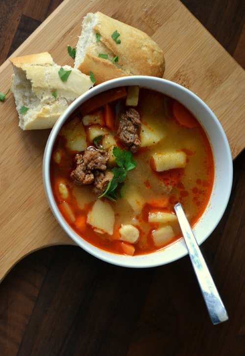 Hungarian goulash soup | Orsi's Kitchen foodies | Pinterest