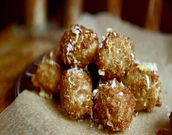 Olive all'Ascolana ( Fried Stuffed Olives) from the Chicago Tribune's...