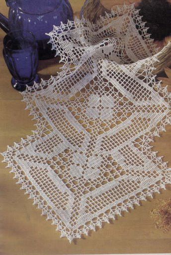 Picasa Web Crochet Table Runner
