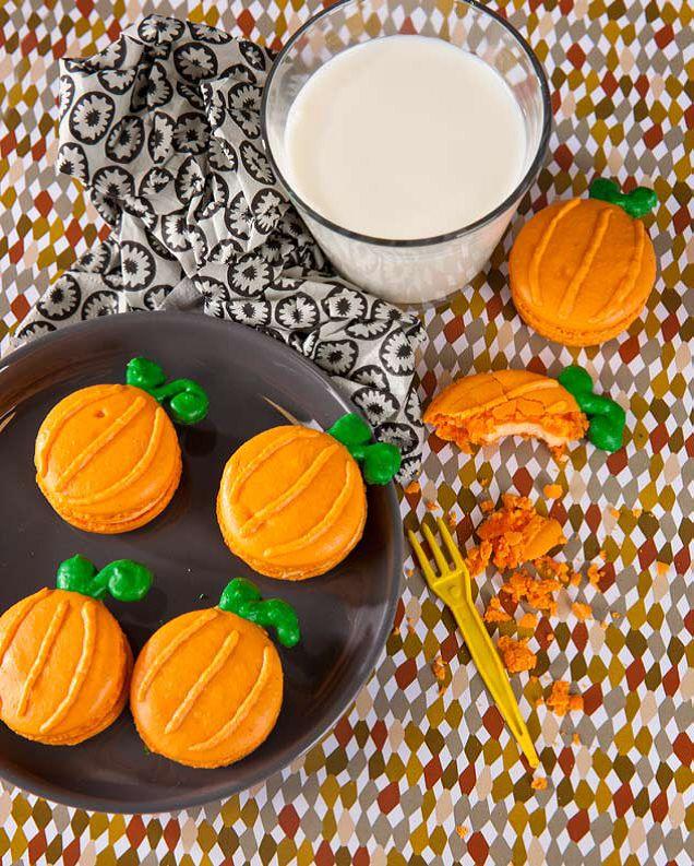Pumpkin macarons | Mad Mac Macaron | Pinterest