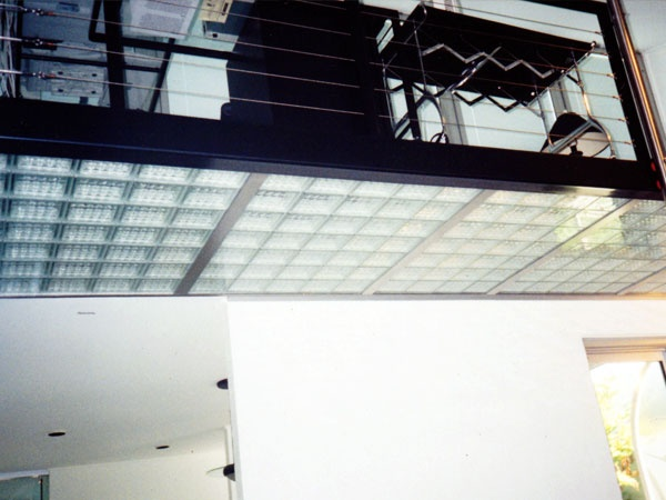 Commercial Glass Block Suspended Floor Lofts Pinterest