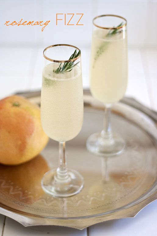 Rosemary Fizz | Cravings | Pinterest