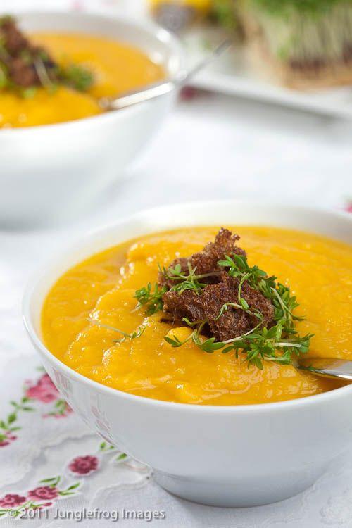 Pumpkin-celeriac soup | Soup! | Pinterest