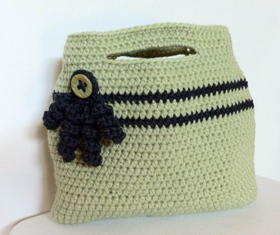 Easy Crochet Tote Bag Pattern : crochet patterns