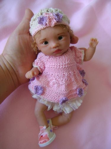 Ooak polymer clay baby tania 9 inches hand sculpted by bettymoni