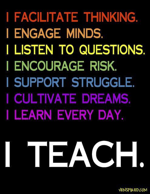 I Teach. | Flickr - Photo Sharing! Printable