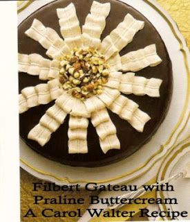 Filbert Gateau with Praline Buttercream | Cakes | Pinterest
