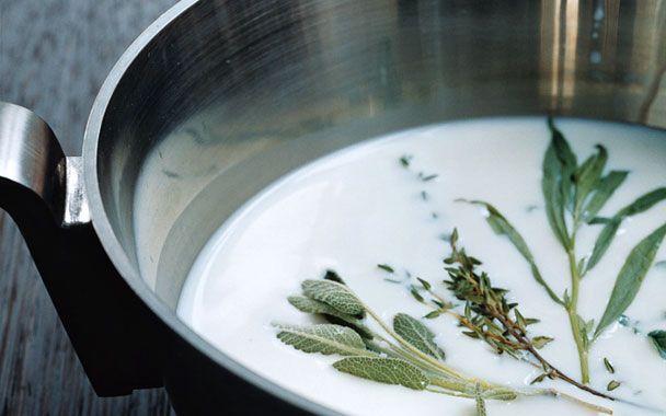 Five-Herb Ice Milk   Ice Cream & Sorbet   Pinterest