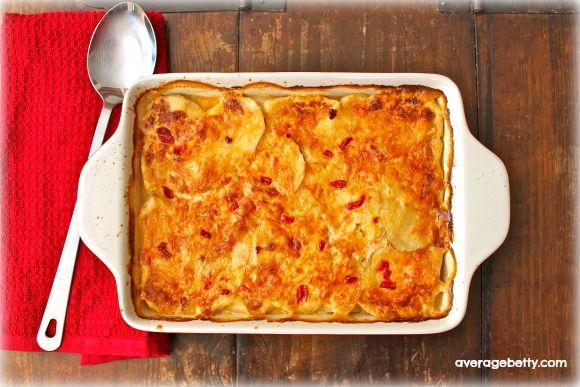 Pimento Cheese Potato Gratin Recipe | veggies | Pinterest