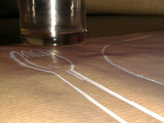 Bonito mantel de papel pintado a mano glitter prertty - Papel pintado a mano ...