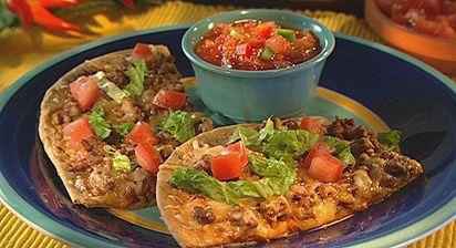 Mexican Flatbread Pizza | Pizza | Pinterest