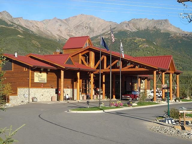 Denali national park princess lodge alaska my june for Denali national park cabins
