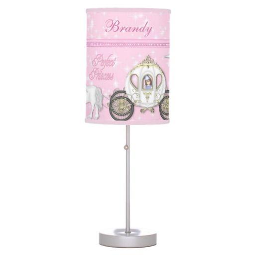 LAMP - PRINCESS - PINK - UNICORNS - CASTLES