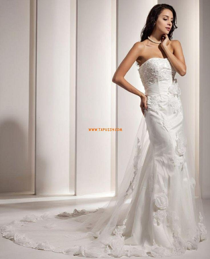 Plume Robe de mariée 2014  Robes de mariée glamour  Pinterest