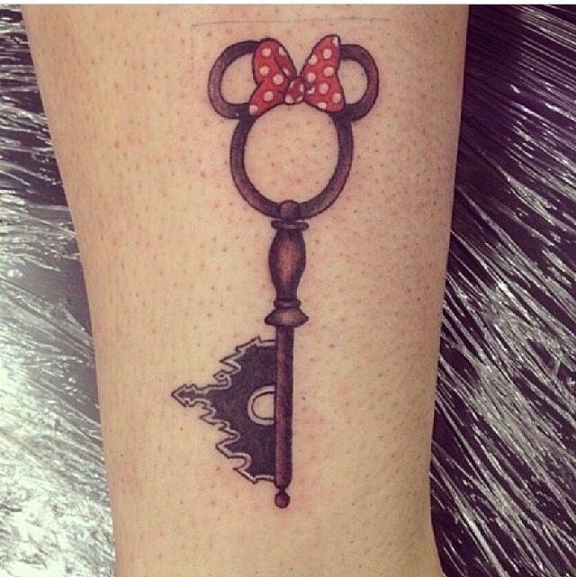 Disney key tattoo pretty sweet tattoos pinterest for Pretty key tattoos