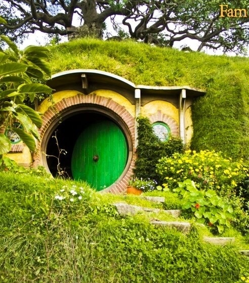 Hobbit House 39 Casa 39 Pinterest