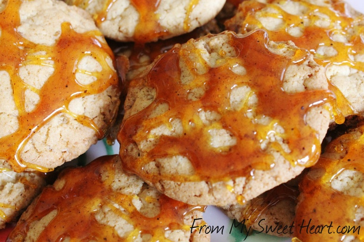 Ginger Chili Caramel Cookies | Sweets | Pinterest