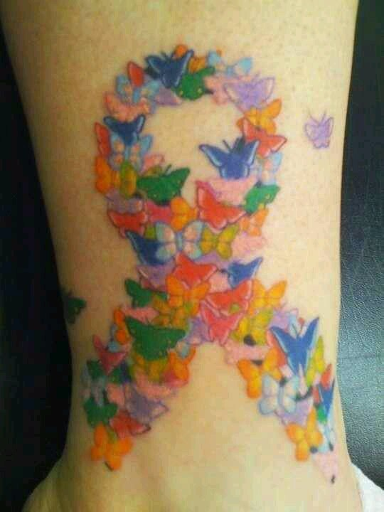 Autism tattoo  I'd do this but with flowers!