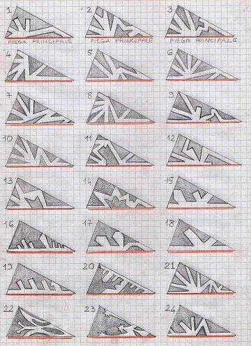 Magical paper snowflakes tutorial via La Pappa Dolce