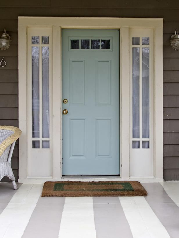 What Color To Paint Front Door Custom Of Blue Front Door Paint Colors Photo