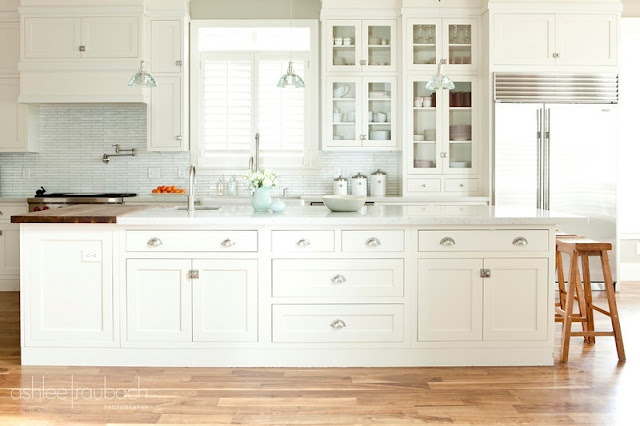 White Kitchen With Inset Cabinets Kitchens Pinterest