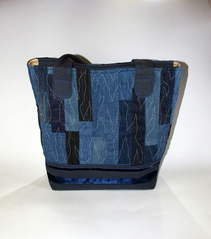 Denim bag from old jeans sewing pinterest for Old denim