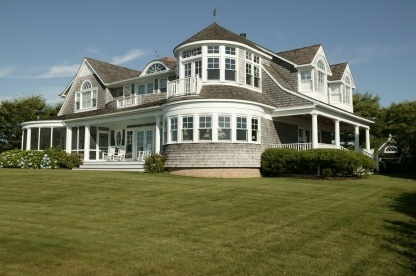 Waterfront Nantucket Style Home | Exterior | Pinterest