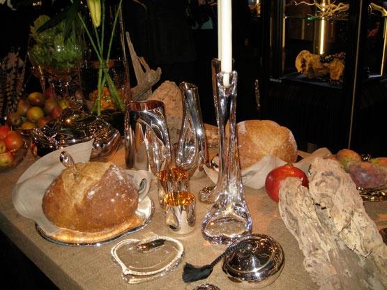 Table setting- 2009- 35th anniversary photo