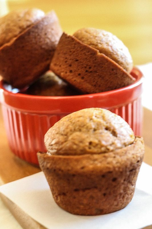 Pumpkin Gingerbread Muffins. I love pumpkin, and I love gingerbread ...