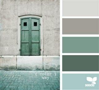 Calming Colors Bathroom Scheme Decor Pinterest