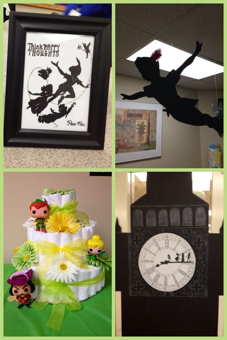 peter pan tinkerbell theme baby boy shower baby shower ideas
