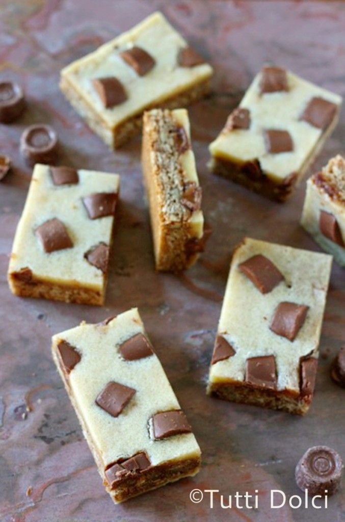 Brown Butter-Candy Cookie Bars. Made with butter, rolled oats, pecans ...