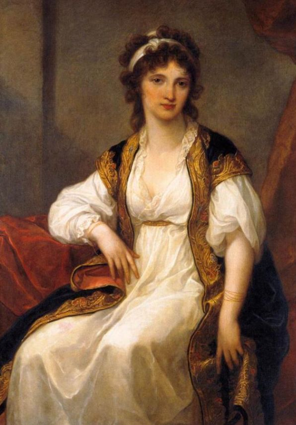 Angelica Kauffmann S Paintings Are In What Style Neoclassical