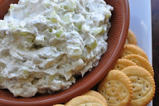 Cucumber dip - Nice cool appetizer for a summer party