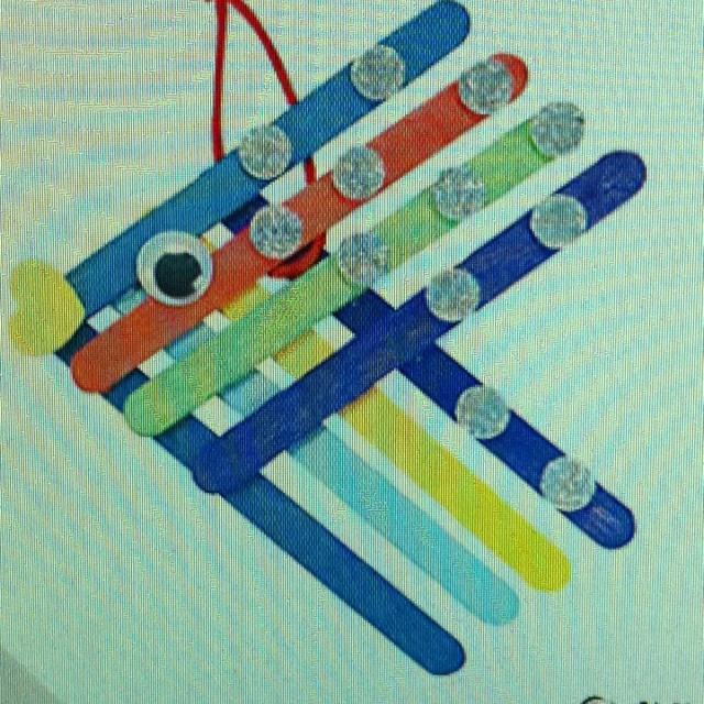 Color fish craft sticks | Church/Sunday School | Pinterest