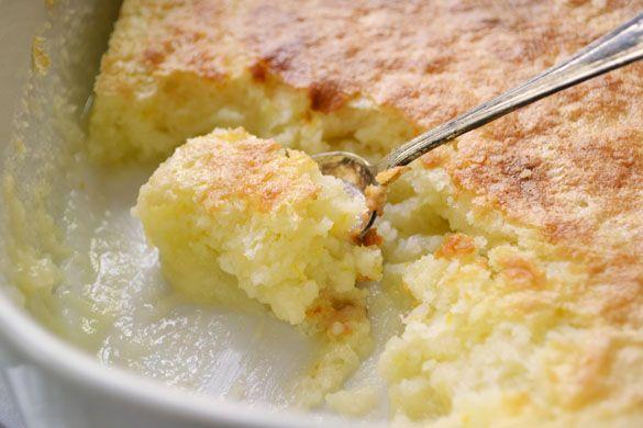 Baked Lemon Pudding Cake | Food Recipes | Pinterest