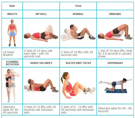 Ab exercises for beginners | Fit | Pinterest